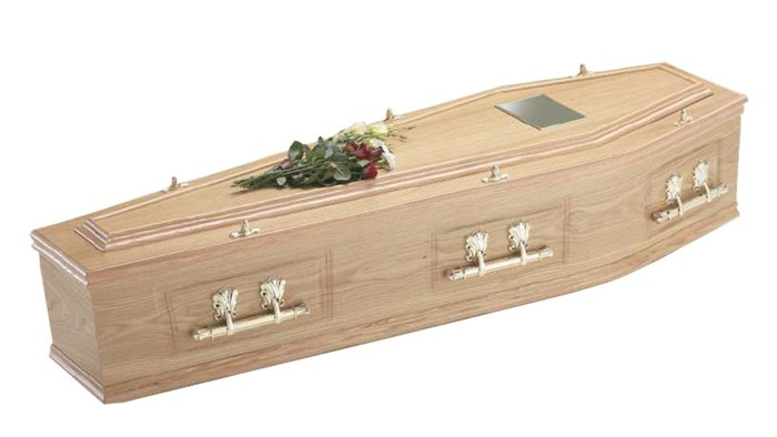 Henley Oak Traditional Coffin