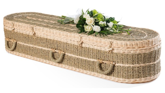 Pandanus Round Coffin