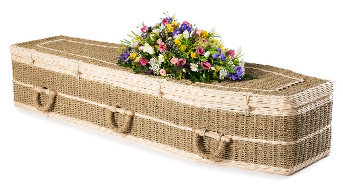 Pandanus Traditional Coffin