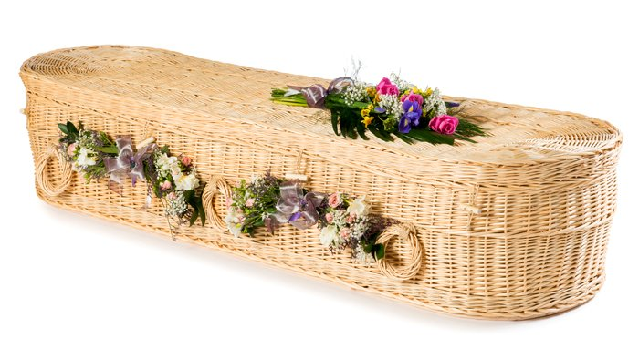 Willow Cromer White Coffin