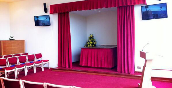 Haycombe Crematorium Bath Interior Photo